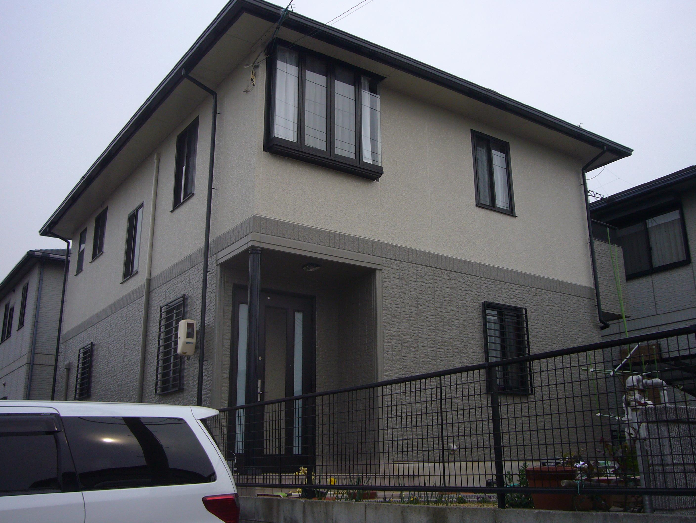 大阪府堺市 T様邸 外壁・屋根フッ素塗装