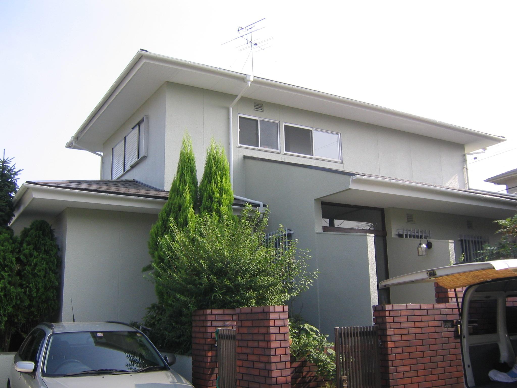 奈良県奈良市 T様邸 外壁・屋根塗装工事
