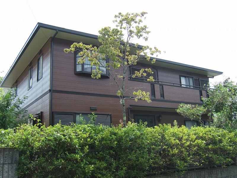 パナホームの塗り替え 外壁目地シール打替え、外壁シリコン塗装、屋根シリコン塗装