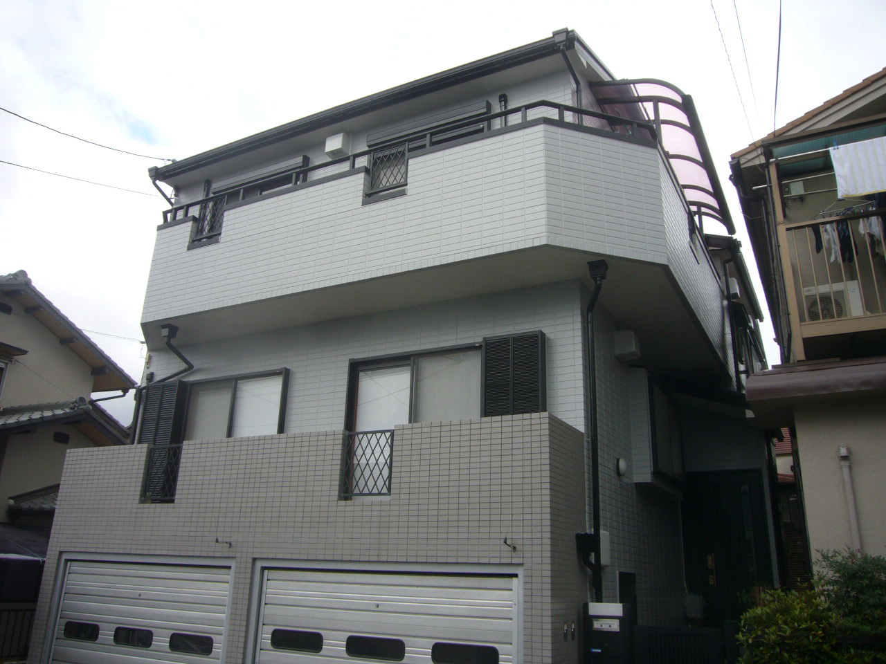 茨木市H邸 外壁シリコン塗装・カラーベスト屋根塗装