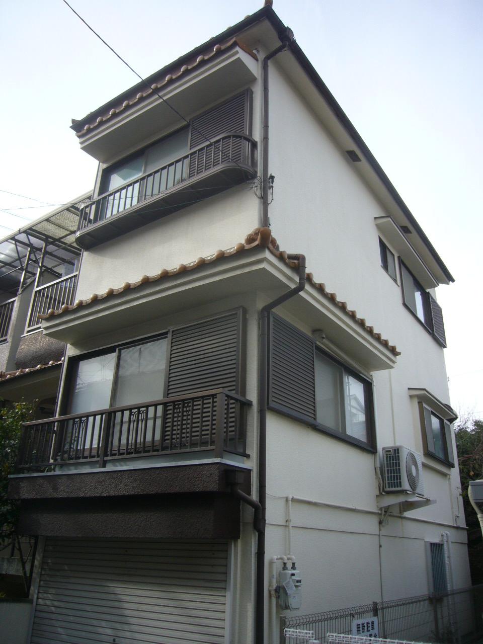 神戸市 外壁シリコン塗装工事
