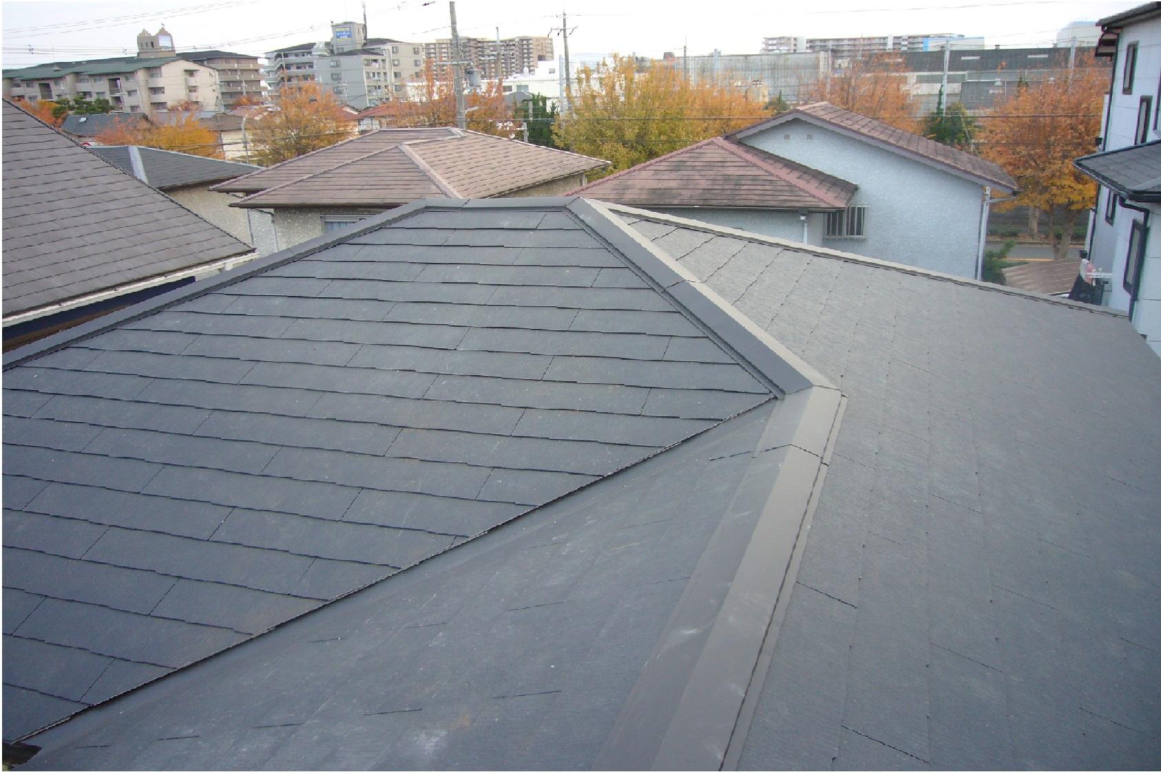 神戸市 カラーベスト屋根葺き替え工事