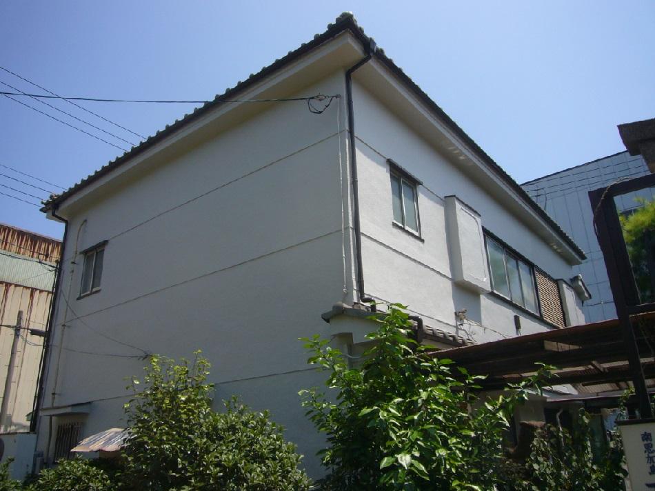 茨木市 外壁シリコン塗装