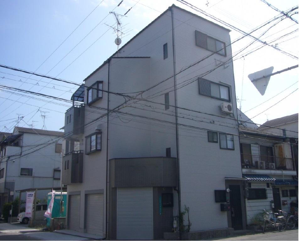 茨木市 外壁フッソ塗装・屋根遮熱塗装