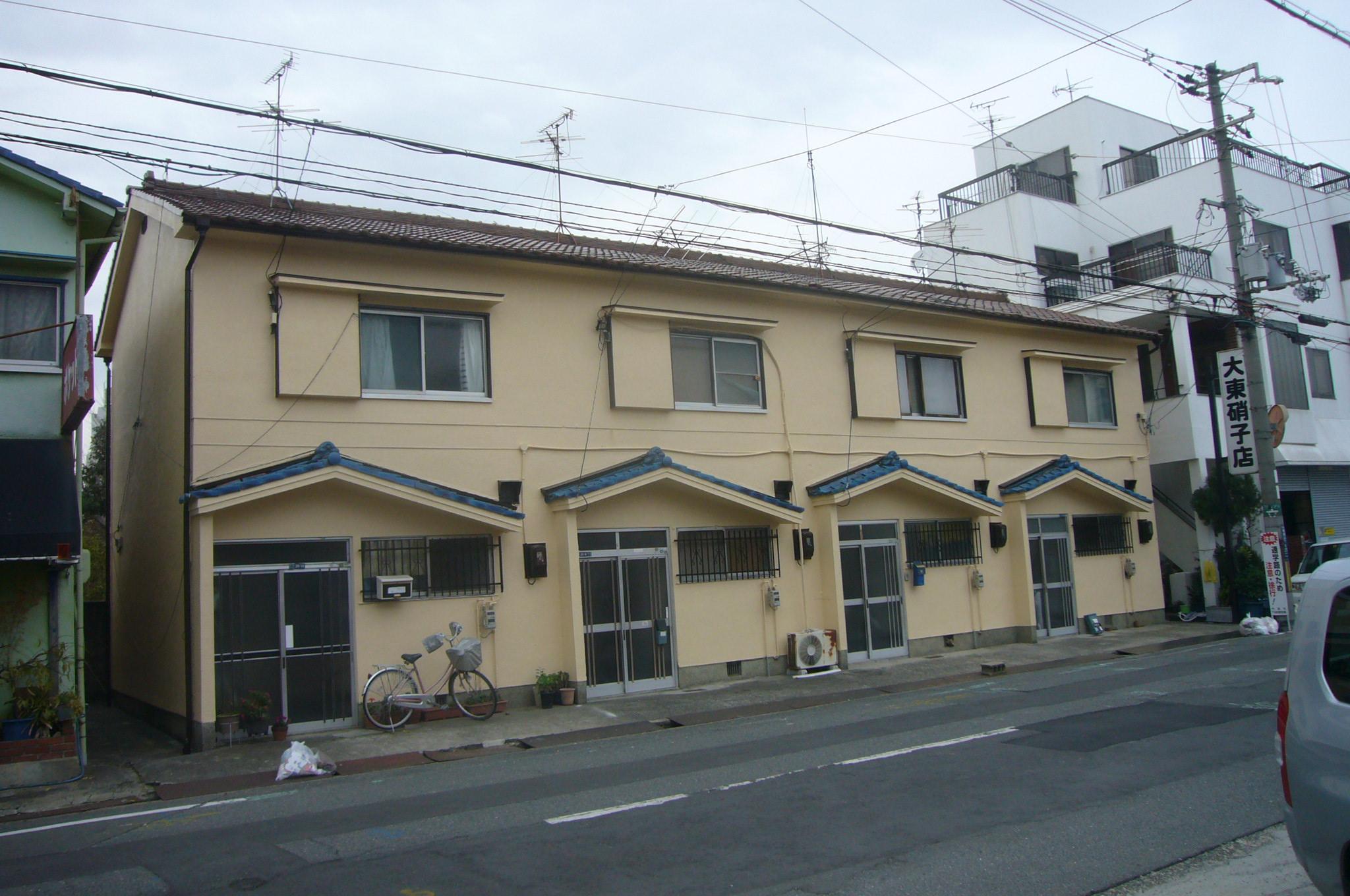 茨木市 外壁シリコン塗装工事