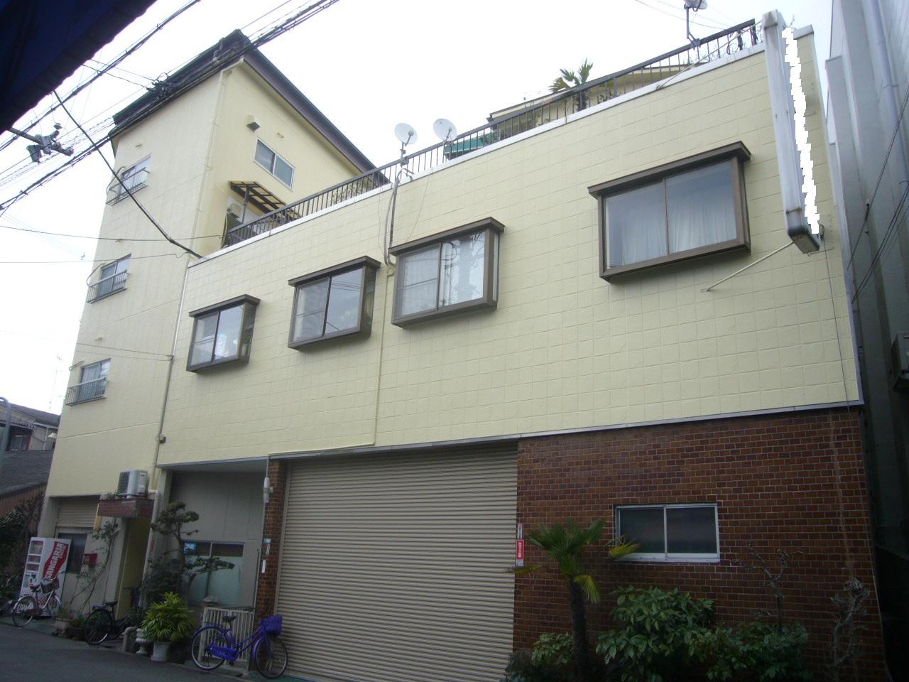 豊中市 施外壁シリコン塗装・瓦棒屋根塗装