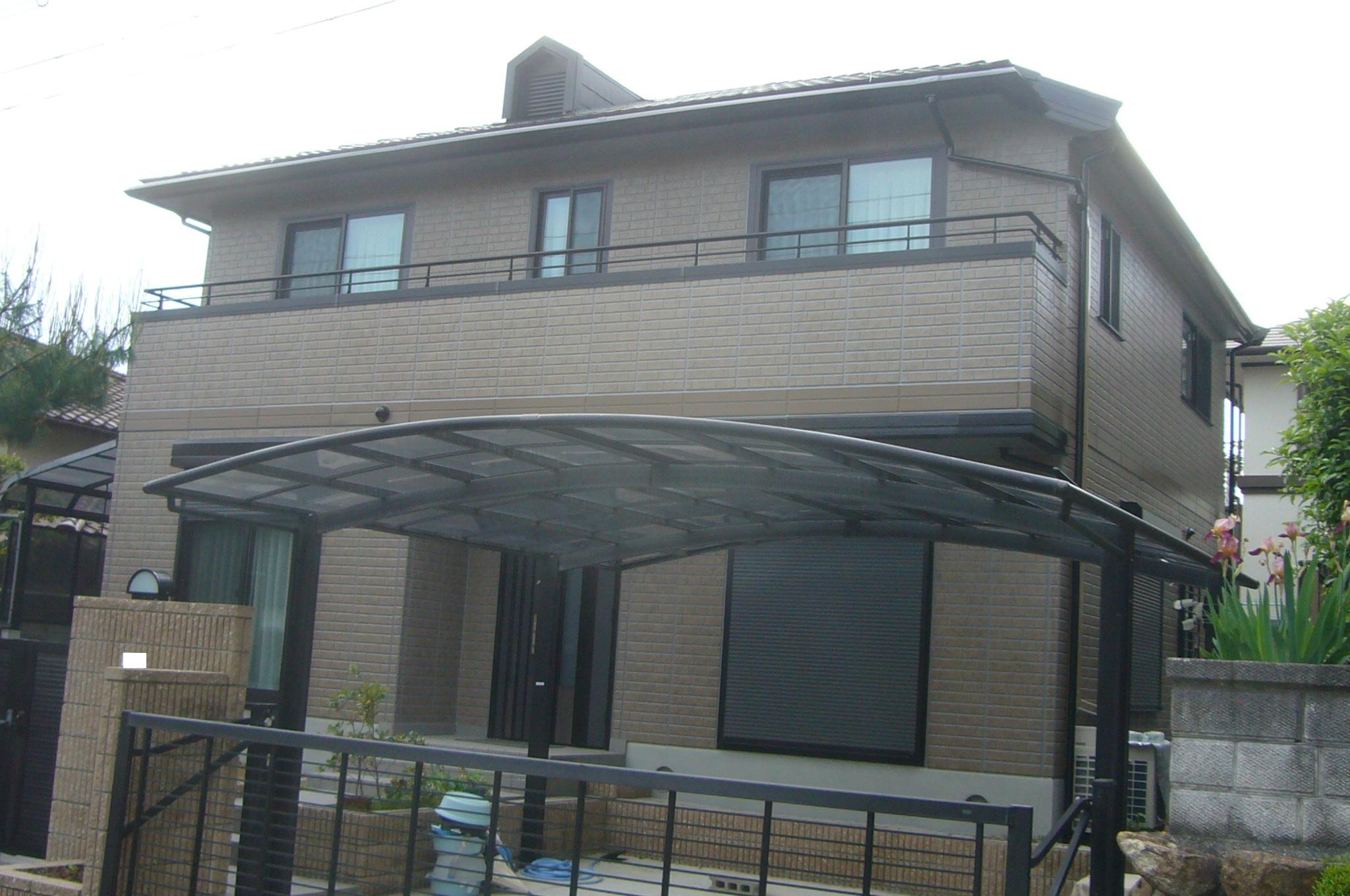 豊能町 外壁、屋根 旭硝子遮熱フッソ塗装
