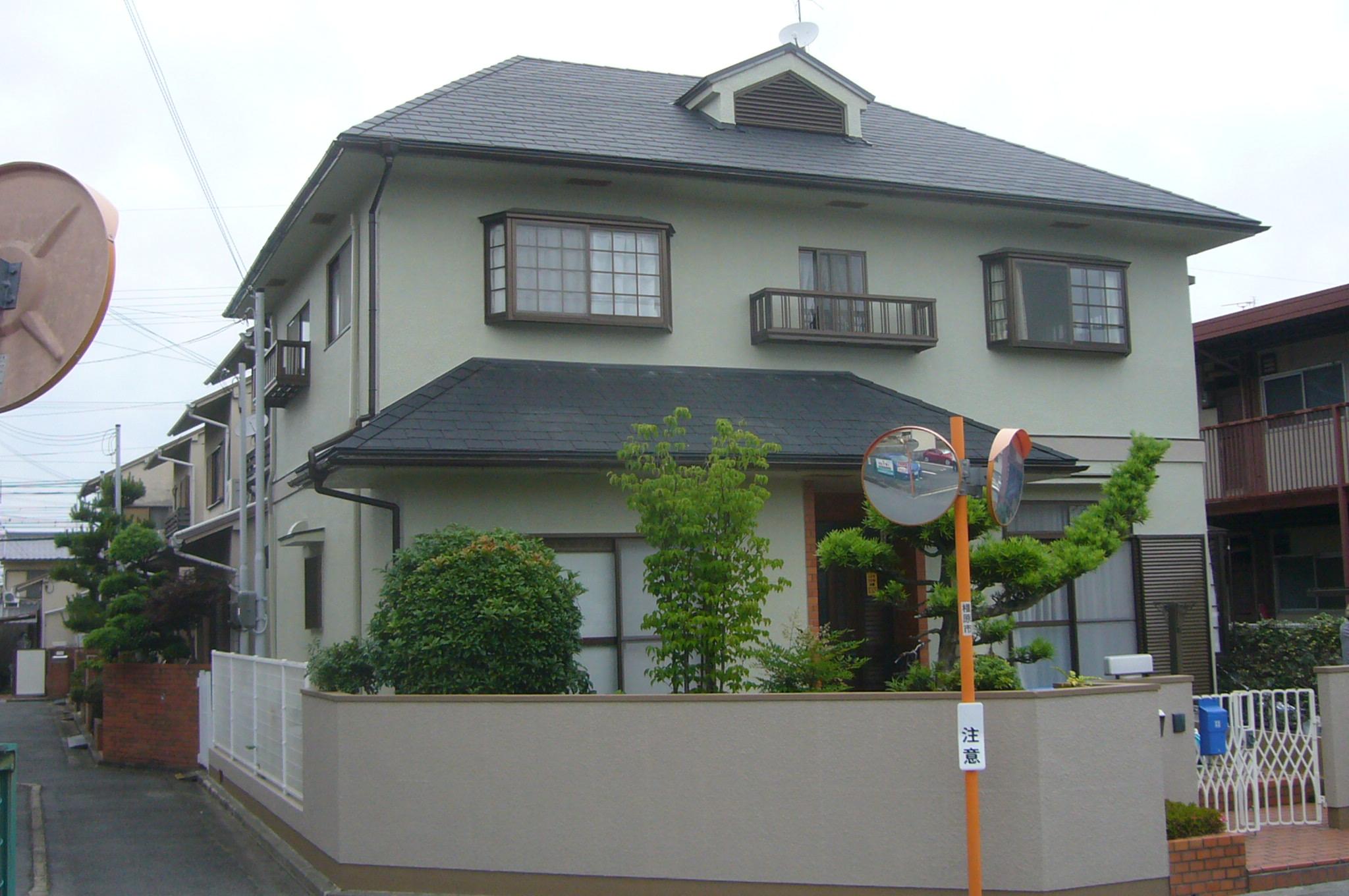 外壁フッソ塗装・屋根葺き替え・カーポート取替え