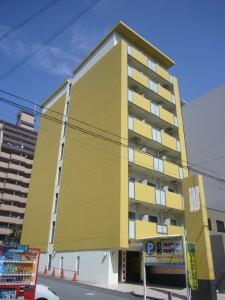 外壁シリコン塗装工事