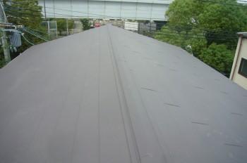 Yマンション様 ガルバリューム鋼板カバー工法