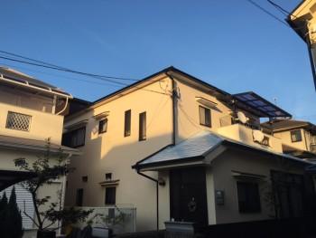 外壁シリコン塗装 屋根遮熱塗装