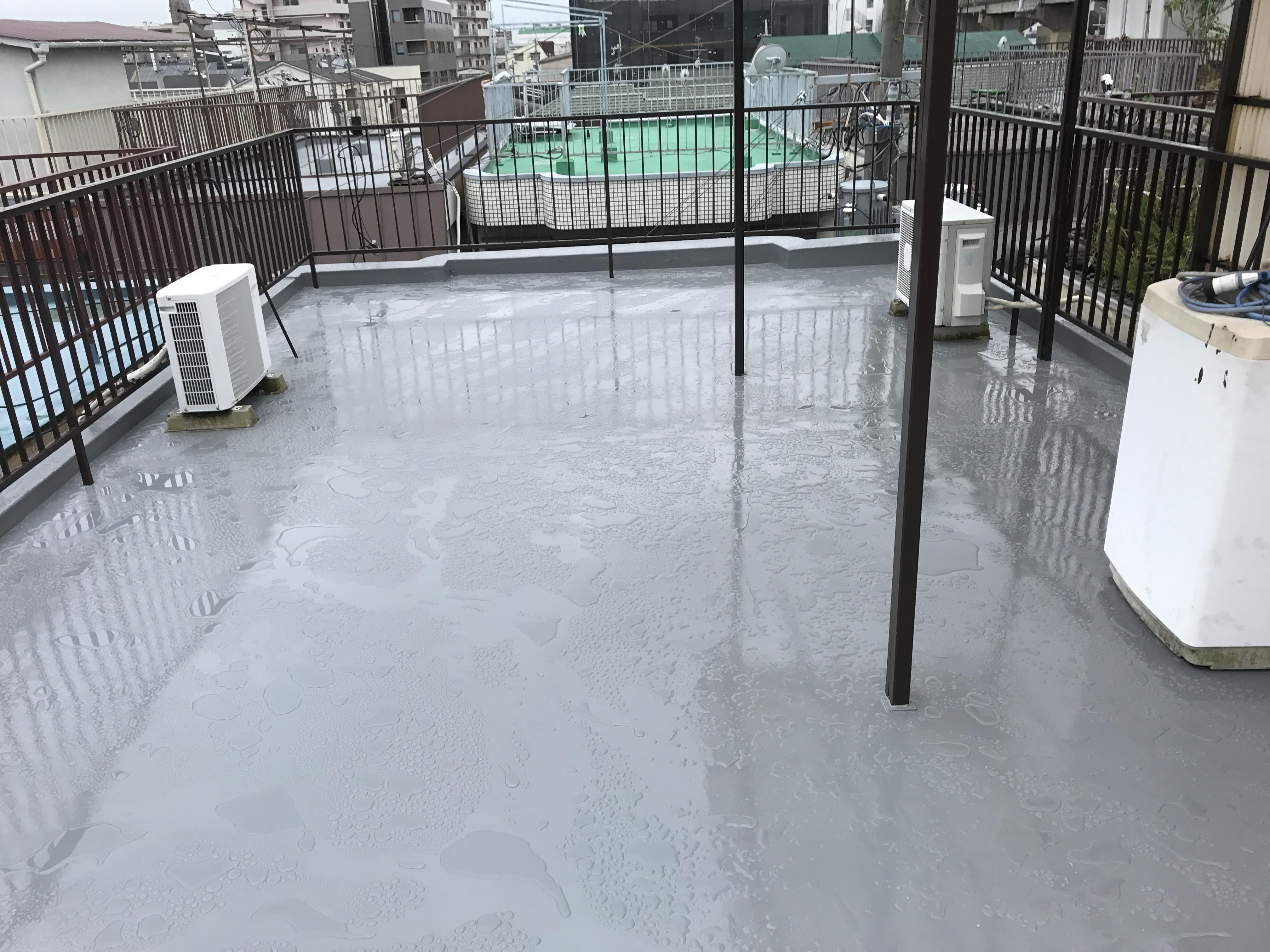 淀川区 M様邸 屋上防水工事