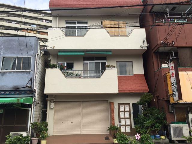 大阪市港区 3階建てRC造 外壁塗装