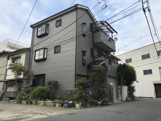大阪市淀川区 K様邸 サイディング塗装と屋根塗装