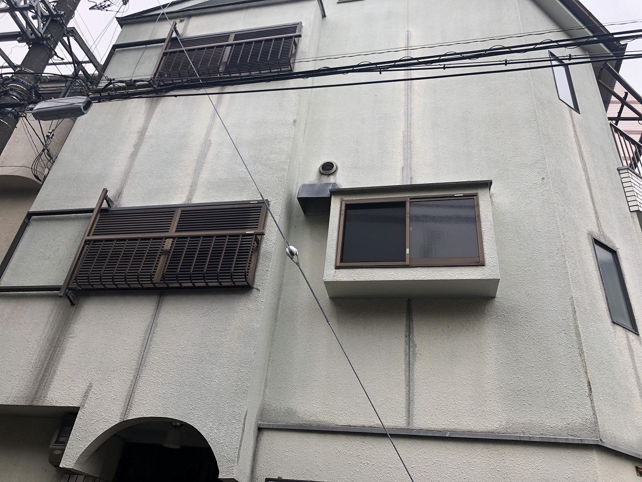 吹田市3階建て中古物件が塗装工事で新築の様に仕上がりました!