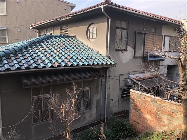 堺市堺区にある長期間メンテナンスしていない外壁をリフレッシュ